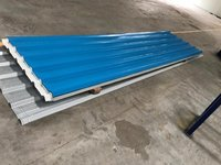 Blue Colour Coated Roofing Sheet