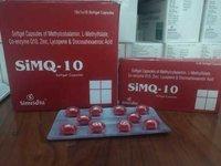 SiMQ-10 Softgel capsules