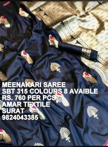 Meenakari Saree