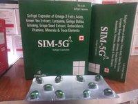 SIM-5G Softgel capsules