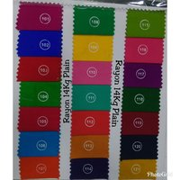 Rayon Cotton Dyed Fabrics