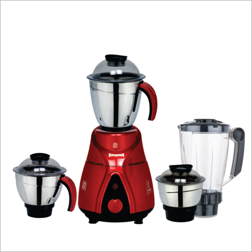 Classic Metallic Series 4 Jar Mixer Grinder