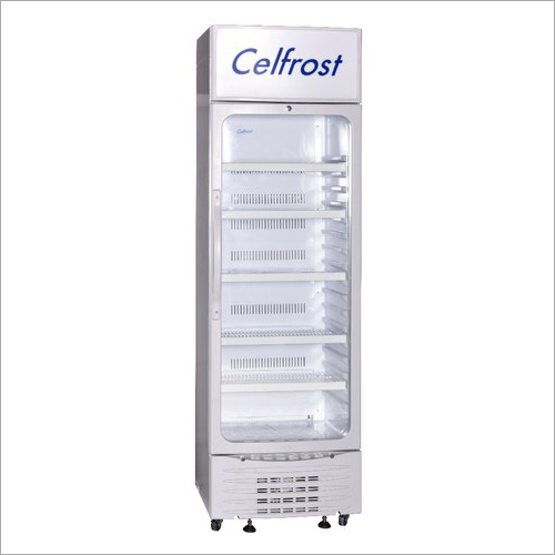SS Single Door Visi Cooler Celfrost