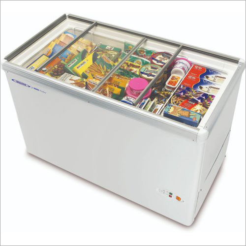 Commercial Ice Cream Display