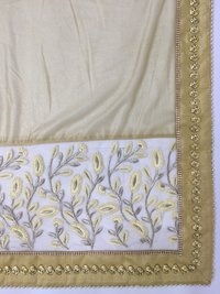 Gold Embroidery Saree