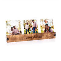 Wooden Photo Stand
