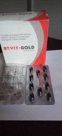 BTVIT-GOLD Softgel Capsules