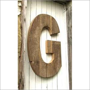 Wooden Sign Letter