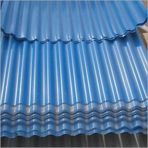 Blue Profile Coated Sheet