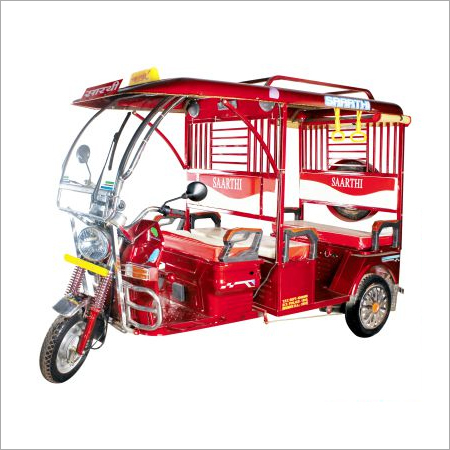 Super Deluxe Battery E-Rickshaw