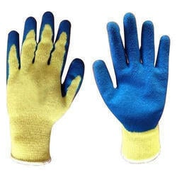 Orange Nitrile Hand Gloves