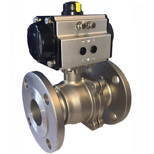 Pneumatic Actuator Ball Valve