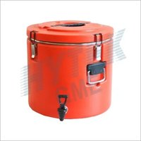 Insulated Round Container With Tap