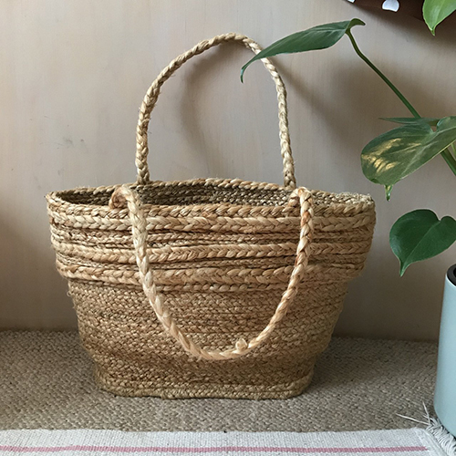 Ladies Braided Jute Bags