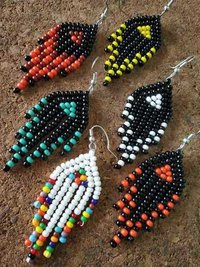 Womens Seed Bead Earrings