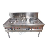 Chinese Burner With Sink