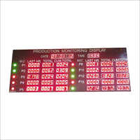 Production Monitoring Display Counter