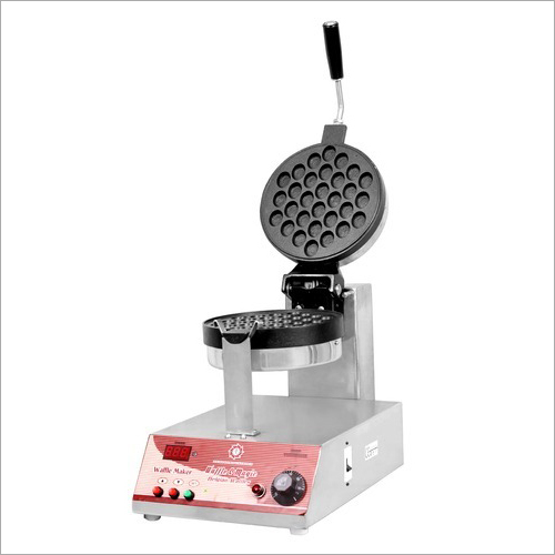 Bubble Waffle Maker - Rotating with Digital Timer