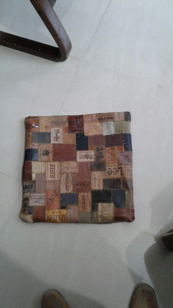 Denim Cushion Cover