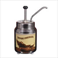 Chocolate Melter Toppings Warmer With Pump