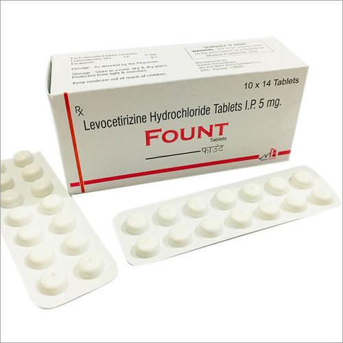 Fount Tablets 5mg