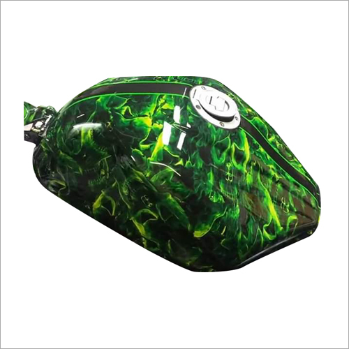 Bike Tank Hydrographic Film