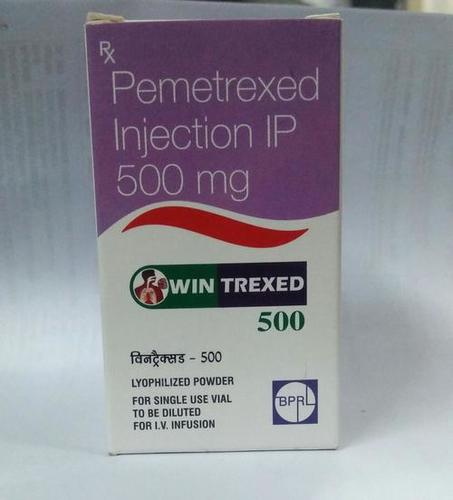 Pemetrexed Injection IP 500 mg