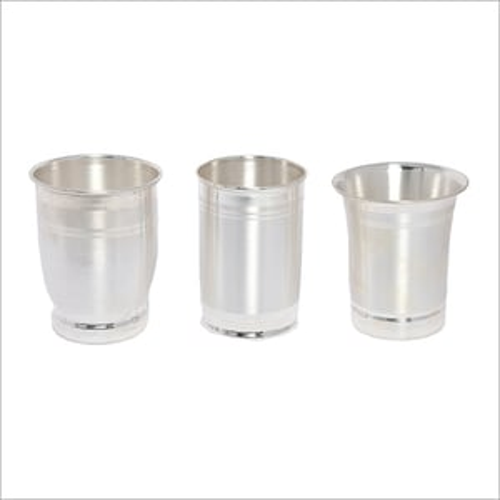 Pure Silver Glass Set