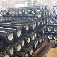 Double flange DI pipe