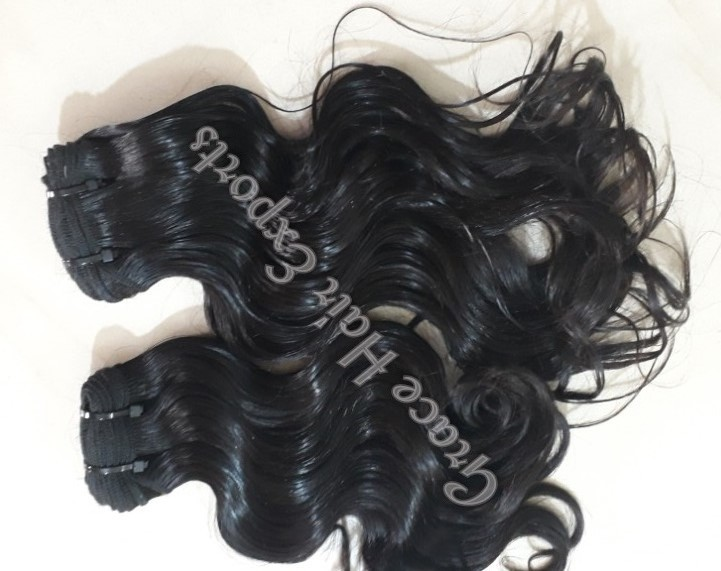 Natural Wavy Indian Hair Extension