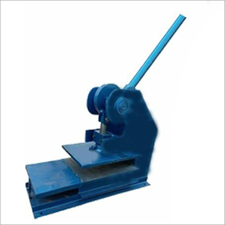 Manual Hand Press Slipper Making Machine