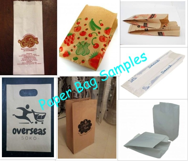 Food Paper Bag Making Machine