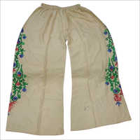 Ladies Embroidered Palazzo
