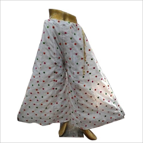 Ladies Polka Dot Sharara