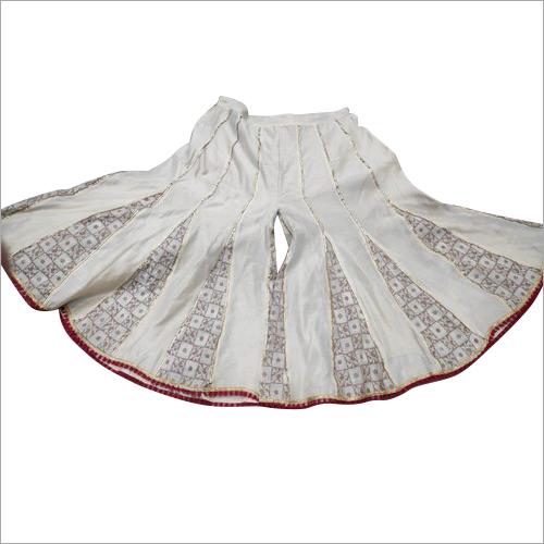 Fancy Ladies Chanderi Brocade Sharara
