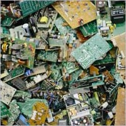 Computer Chips Waste Scrap