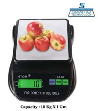 Atom-126 Digital Compact Weighing Scale