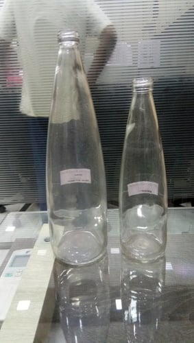 Mineral Water Glass Bottle