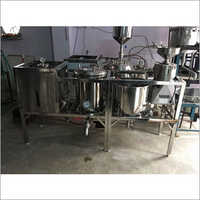 100 Ltr Per Hr Automatic Soya Milk Making Machine
