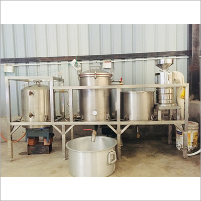 Soya Milk Making Plant And Machine