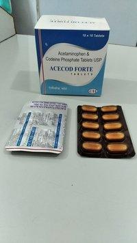Acetaminophen 325 mg + codeine Phosphate 30 mg
