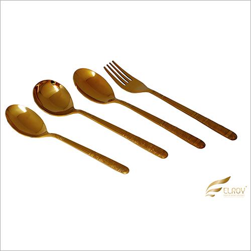 Kraft Gold Cutlery Set