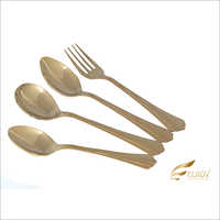 Linedar Gold Cutlery Set