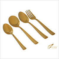Pinty Gold Cutlery Set
