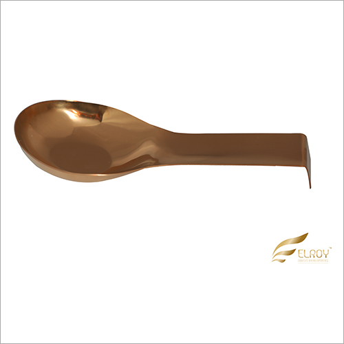 Ladle Rest Small Rose Gold Cutlery Set