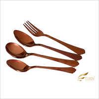 Linedar Rose Gold Cutlery Set