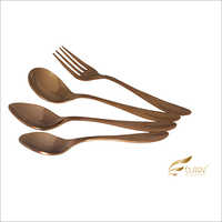Neckless Rose Gold Cutlery Set