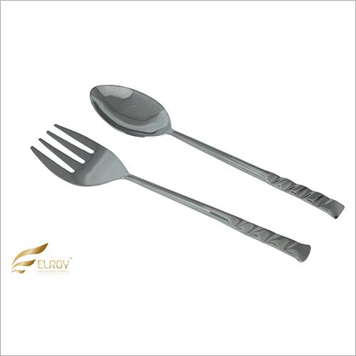 Salad Server Cut SS Cutlery Set