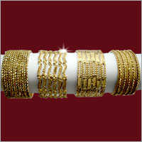 Ladies Deisgner Bangles Gold Plating Service