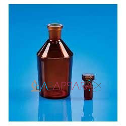 Reagent Bottle NMFS Amber Colours (Soda Glass)